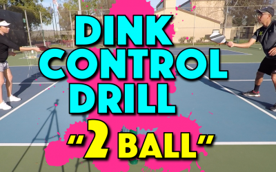 """2 Ball"" Dink Control Drill 