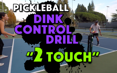 2 Touch Dink Ball Control Drill
