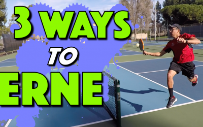 3 Ways To Hit A Legal Erne In Pickleball