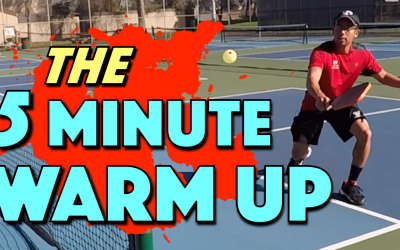The 5 Minute Warm Up | A quick pre-game pickleball warm up when you have limited time