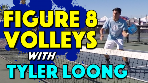 Figure 8 Pickleball Volley Drill with Tyler Loong