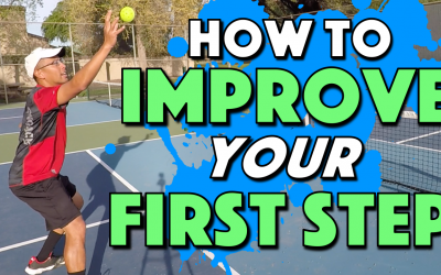 How To Improve Your First Step In Pickleball