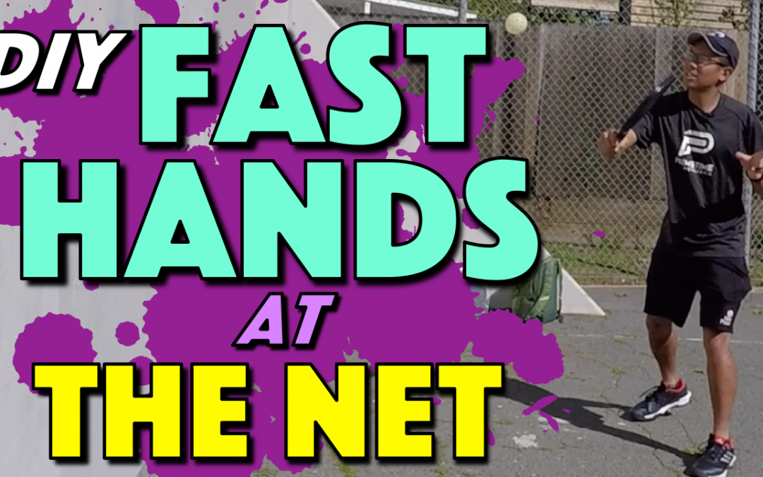 Fast Hands At The Net | Pickleball Volley Wall Drill