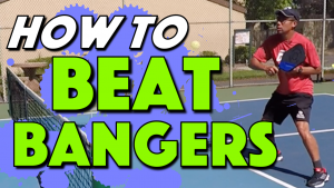 How to Beat Bangers | Defending against hard hitters in pickleball