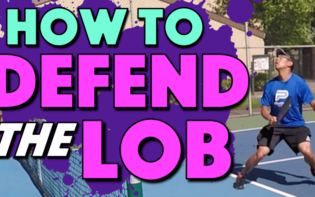 How To Defend The Lob | What to do when you have to chase down a lob