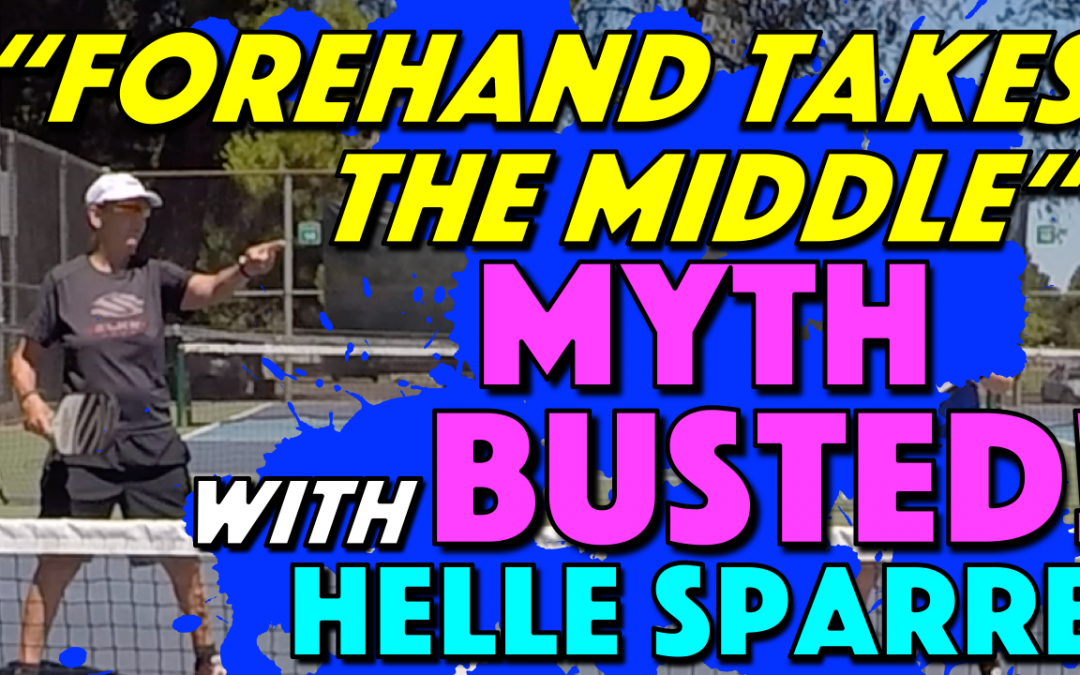 """Forehand Takes The Middle"" Myth Busted!"