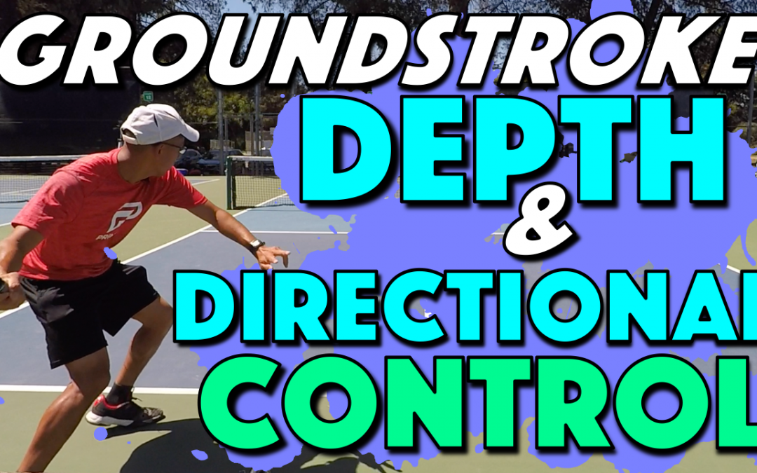 Depth & Directional Control On Your Groundstrokes