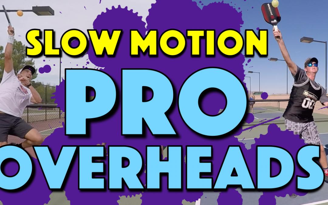 Pro Overhead Smash Slow Motion | Tyson McGuffin, Aspen Kern & Jordan Briones