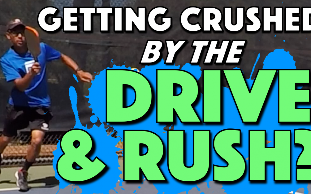 Huge 3rd Shot Net Rushing Mistake | Getting crushed by the Drive & Rush?