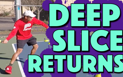 Deep Slice Returns | How to train a deep and low return of serve