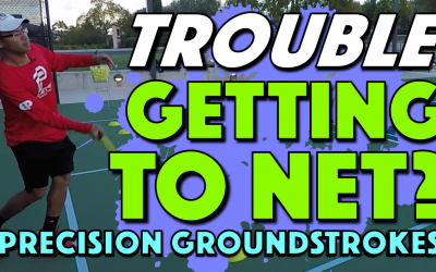 Precision Groundstrokes | Stronger returns for an easier transition to net