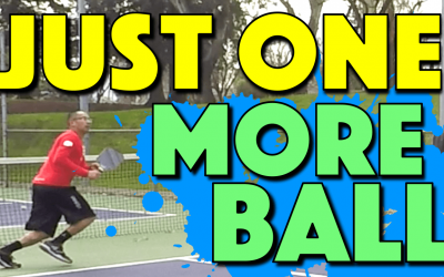 Pickleball Strategy: Smart defense to get back in the point